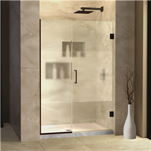 Aluminum frame sliding shower glass door shower enclosure bathroom doors with tempered glass