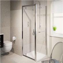 Latest design shower room hinge door with 6mm 8mm clear glass shower room