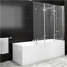 OEM Frameless 6mm Acrylic Glass Shower Door Design