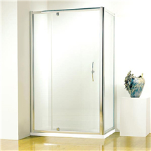 Modern round shower enclosure sliding door design