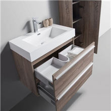 Wholesale High Quality Modern Style Plywood Bathroom Vanity Cabinet Best Price Plywood Bathroom Vanity Made In China