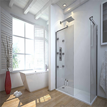 High Quality Professional Manufacturer sex glass door shower room
