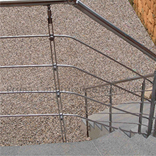 Modern stairs stainless steel rod railing kits stainless steel railing with rod