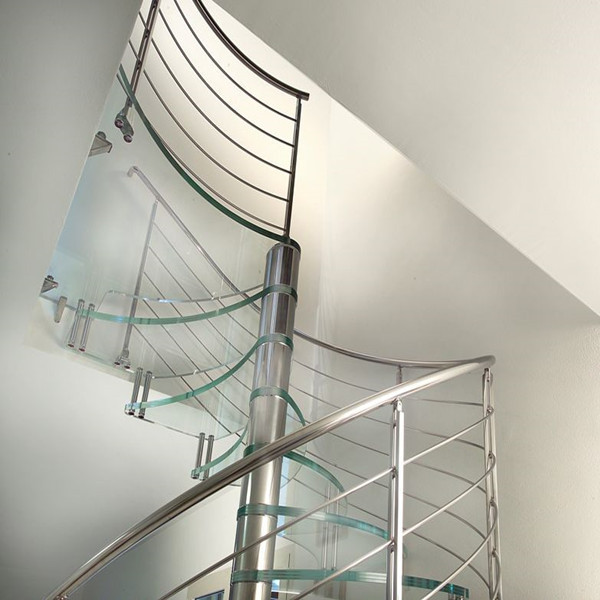 J-glass stairs price mini light for stairs