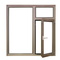 factory manufacture experience to produce aluminum swing window-A