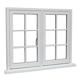 High Quality Latest Aluminum Swing Window with thermal break aluminum profile-A