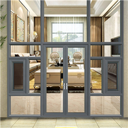 Good quality glass aluminium frame aluminium casement window-A
