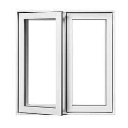 modern design aluminum glass casement/ swing window customized window-A