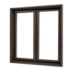 Hot sale white color aluminum casement window with grill design aluminum storm windows for sale-A