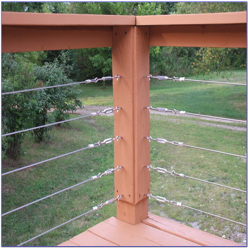 S-Stainless Steel Cable Railing Hardware Deck Railing